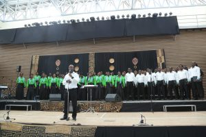Choristers with resounding voices