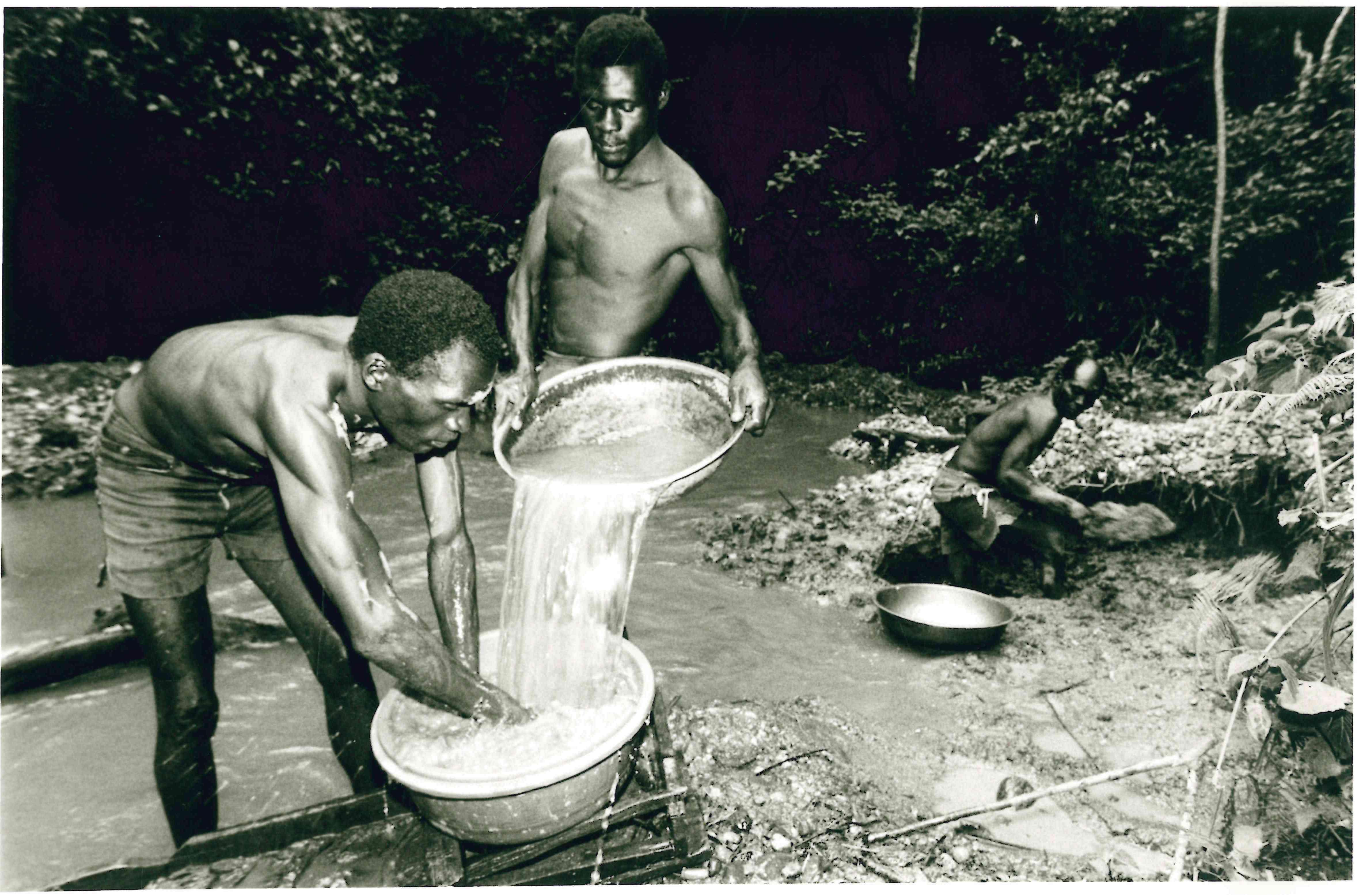 Rosterman Gold Mines in Kakamega in the 1960s.