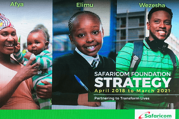 Where Safaricom Foundation is going next