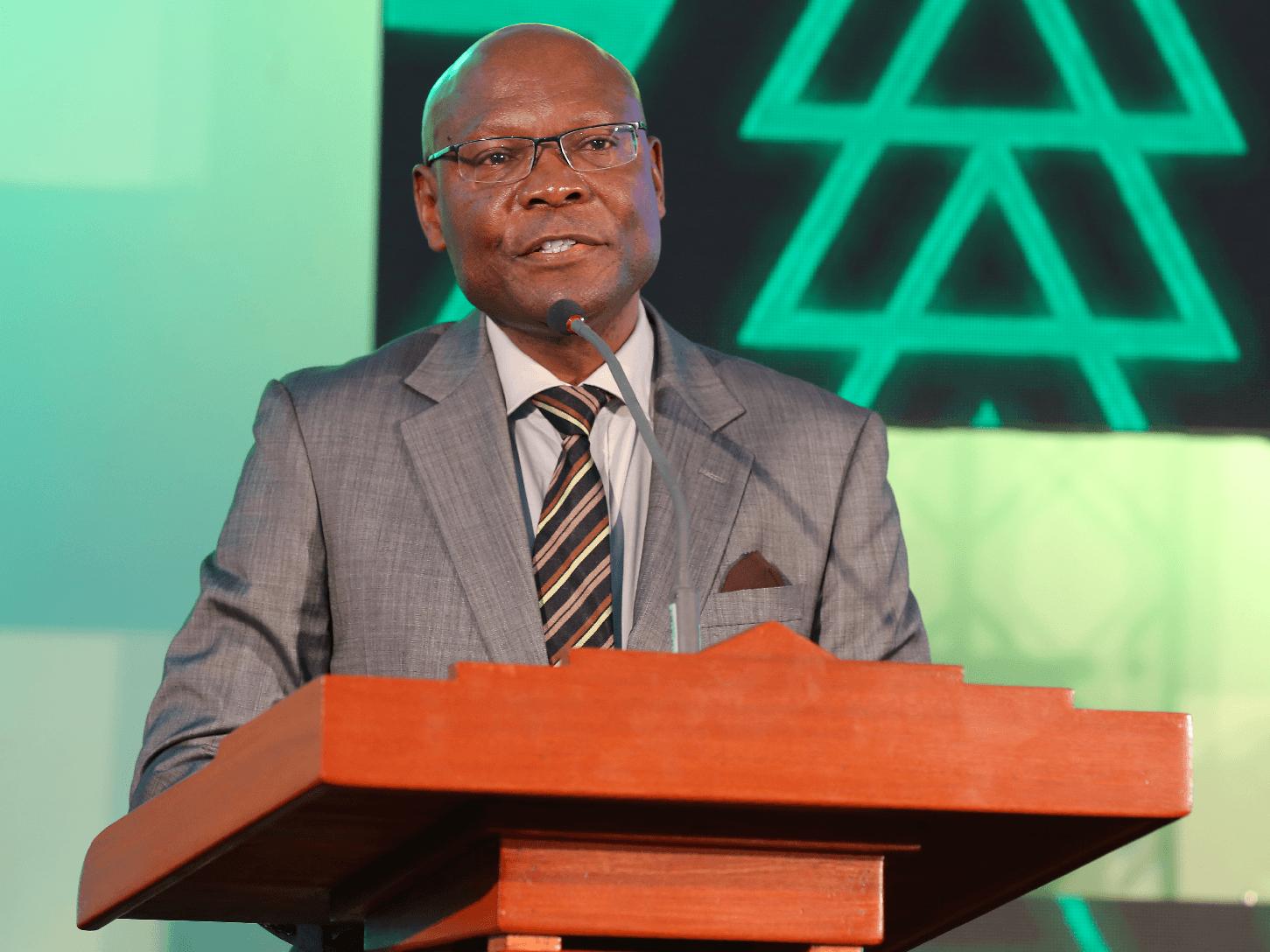Safaricom Foundation Chairman, Joseph Ogutu.