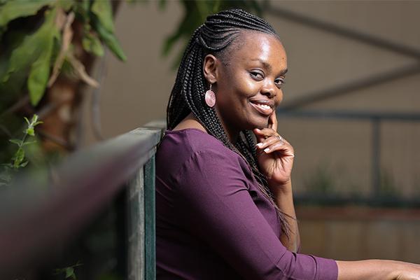 Faces of Safaricom - Violet Njuguna