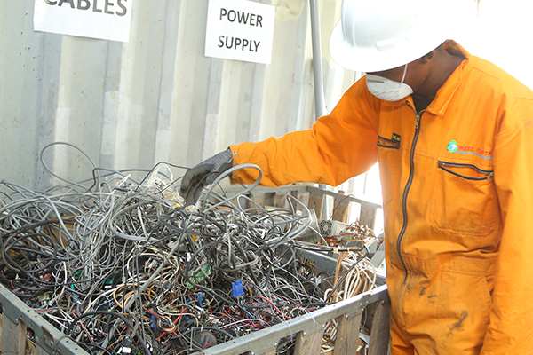 Giving e-waste a new life