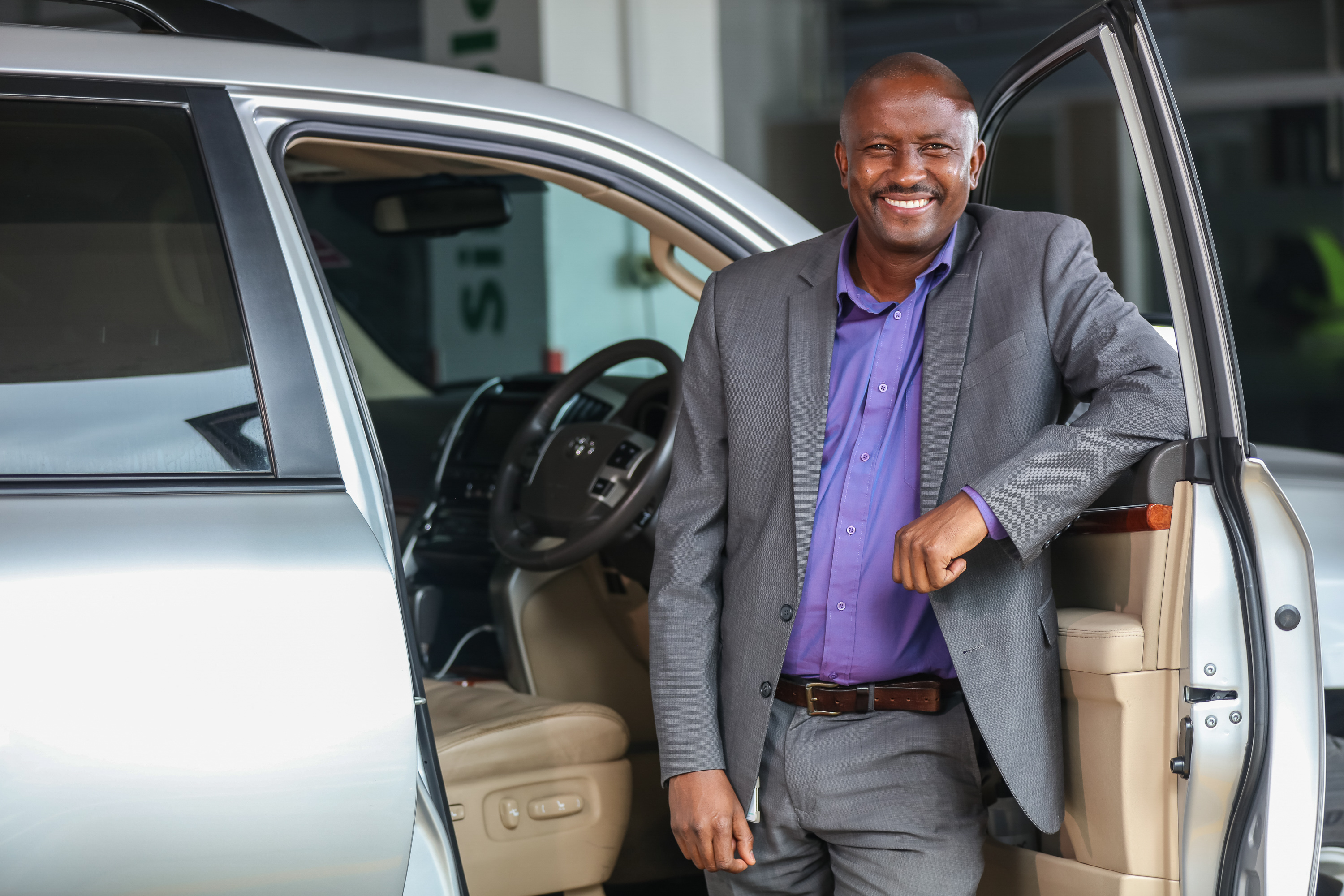 Kennedy Nene met Bob Collymore while working for a tour and travel company. He later became his driver until Bob's passing.