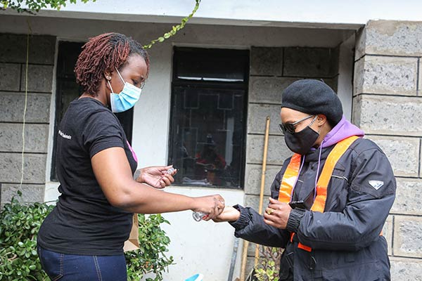 The all-female courier business on bodaboda