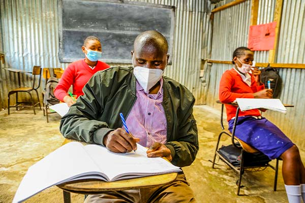 International Literacy Day: A man's determination to go back to class after 22 years